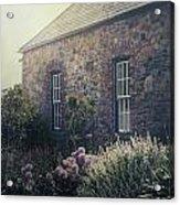 British Cottage Acrylic Print