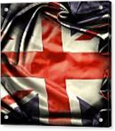 British Flag 10  Acrylic Print