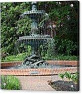 Bronze Fountain Annapolis Acrylic Print