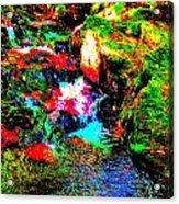 Brook Texture 13 Acrylic Print