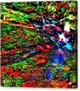 Brook Texture 17 Acrylic Print