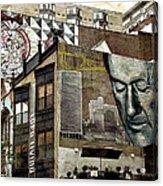 Brooklyn Grafitti Acrylic Print