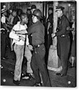 Brooklyn Riots, 1964 Acrylic Print