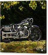 Brough Superior Ss 100 Acrylic Print