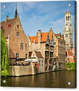 Bruges Canals Acrylic Print