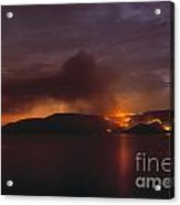 Brush Fire Acrylic Print