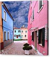 Burano 02 Acrylic Print by Giorgio Darrigo
