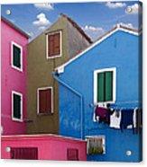Burano 10 Acrylic Print by Giorgio Darrigo