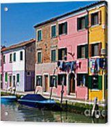Burano, Venice Acrylic Print