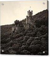 Burg Sooneck Am Rhine Acrylic Print
