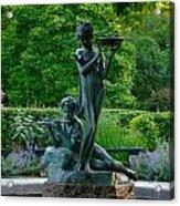 Burnett Fountain Acrylic Print