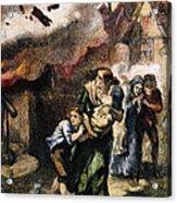 Burning Of Norfolk, 1776 Acrylic Print