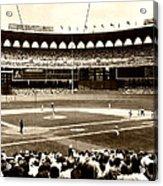 Busch Stadium - St Louis 1966 Acrylic Print