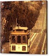 Cable Car In San Francisco Acrylic Print