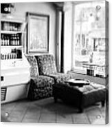 Cafe Acrylic Print by Thomas Leon