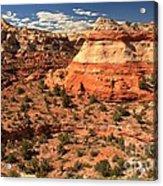 Calf Creek Canyon Red Rocks Acrylic Print
