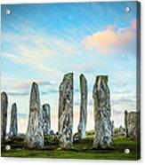 Callanish Standing Stones, Isle Of Lewis Acrylic Print