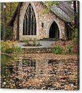 Callaway Gardens Chapel-pine Mountain Georgia Acrylic Print