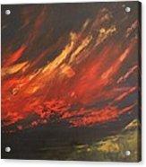 Camberwell Skies Acrylic Print