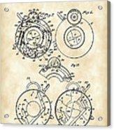 Camera Shutter Patent 1910 - Vintage Acrylic Print