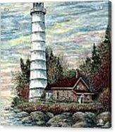 Cana Island Light Acrylic Print