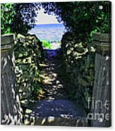 Cana Island Walkway Wi Acrylic Print