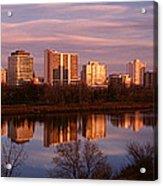 Canada, Saskatchewan, Saskatoon Acrylic Print