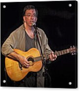 Canadian Folk Singer James Keeglahan Acrylic Print