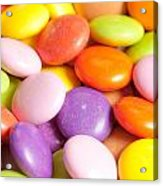 Candy Background Acrylic Print