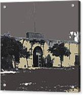 Canutillo Hacienda As Given To Pancho Villa  C.1920-2013 Acrylic Print