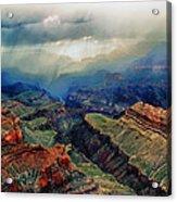 Canyon Clouds Acrylic Print