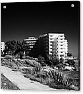 Cap De Salou Waterfront Properties On The Costa Dorada Catalonia Spain Acrylic Print