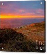 Cape Kiwanda Sunset Acrylic Print