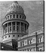 Capitol At Dawn Acrylic Print