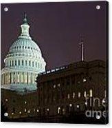 Capitol Building Washington Dc Acrylic Print