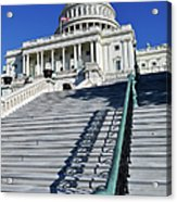 Capitol Hill Building In Washington Dc Acrylic Print