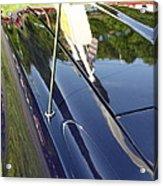 Car Reflection Acrylic Print