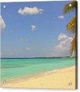 Caribbean Dream Beach Acrylic Print