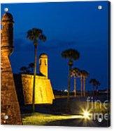 Castillo De San Marcos St. Augustine Florida Acrylic Print