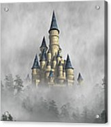 Castle In The Clouds Acrylic Print