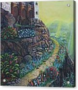 Castle Mountain Acrylic Print