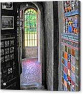 Castle Passageway Acrylic Print