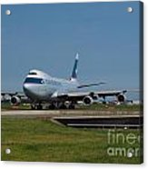 Cathay Pacific Boeing 747 Acrylic Print