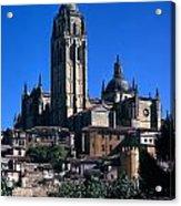 Cathedral In Salamanca Acrylic Print
