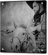 Cavalry Rides Again Acrylic Print