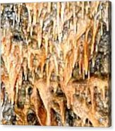 Cave Formations 2 Acrylic Print