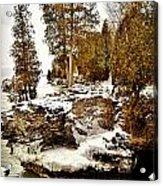 Cave Point County Park Door County  Acrylic Print