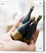 Celebration Champaign Bubbles Acrylic Print
