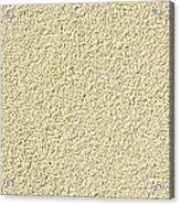 Cement - Stucco Wall Texture Acrylic Print