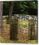 Cemetery Acrylic Print